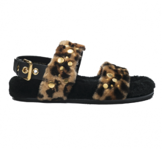 Car Shoe Montone St. Leopardo Sandals