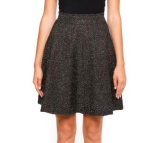Antonino Valenti Metallic A-Line Skirt