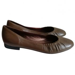 Judith Leiber Italian Leather Flats
