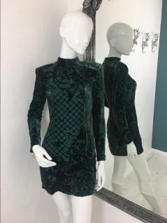 Balmain For H&M Long Sleeves Dress