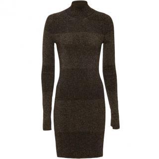 A.L.C Two Tone Shimmer Lurex Dress