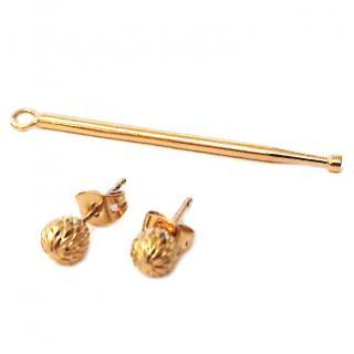 Noritamy toolbox earrings with mono charm