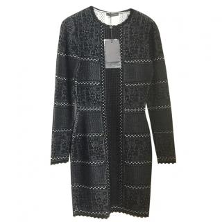 Alexander Mcqween jacquard knit dress