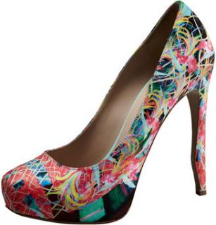 Nicholas Kirkwood Bird of Paradise Platform Pumps