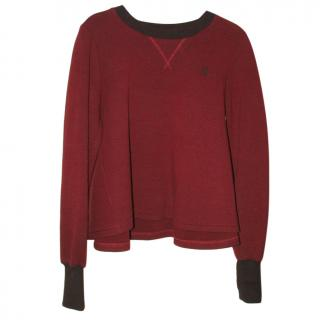 ROKSANDA ILINIC brick red top