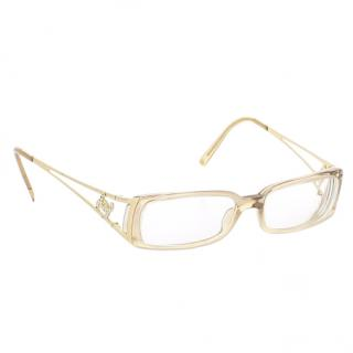 Chanel transparent optical eyewear