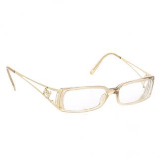 Chanel transparent optical eyewear