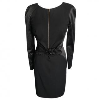 Alexander McQueen Black Dress UK12/44