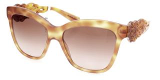 Dolce Gabbana Tortoise Square Sunglasses