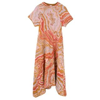 Missoni Short Sleeved Long Dress