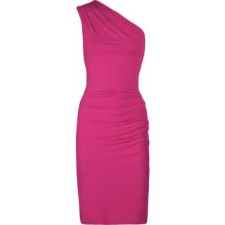 Michael Kors Collection One Shoulder Body con Dress
