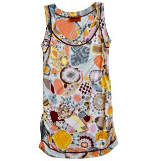 Missoni printed vest top