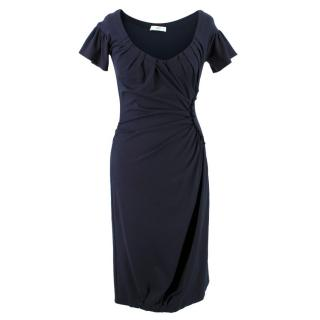 Prada Navy Bodycon Dress