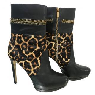 Michael Kors Haya Calf-Hair Boots