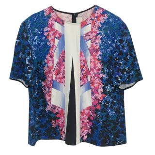 Peter Pilotto Graphic-Print Top