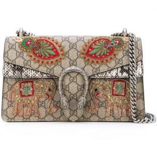 Gucci Dionysus GG Supreme Elephant Shoulder Bag