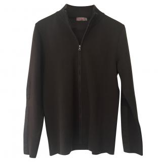 Prada zipped cardigan