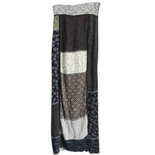 Kenzo Tribal Maxi Skirt