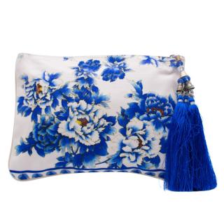 Camilla Ring Of Roses Floral Summer Clutch