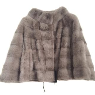 Saga Mink CPL jacket in powder lilac colour