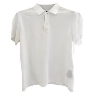 Giorgio Armani white polo top