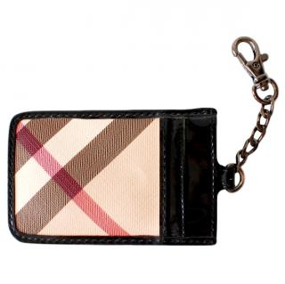 Burberry Credit Card Holder & Keychain