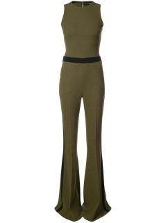 David Koma Sleeveless Flared Jumpsuit