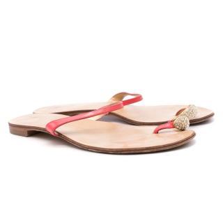 Giuseppe Zanotti Design Embellished Toe Ring Sandals