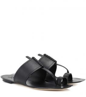 Saint Laurent Black SABA sandals