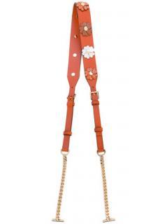Michael Kors Floral Applique Bag Strap