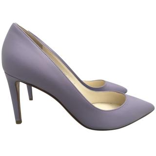 Ralph Lauren hPurple Label Lilac Leather Pumps