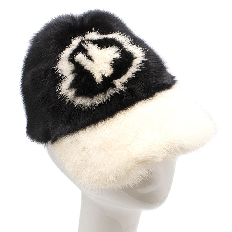 Moncler Mink Fur Cap  ff36b3d879d