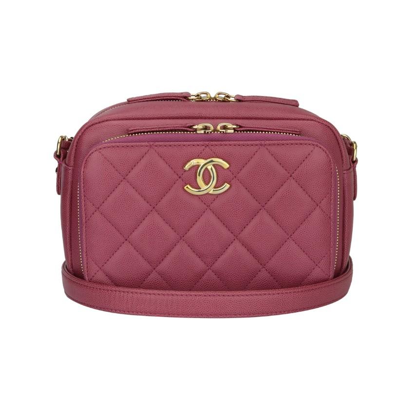 c917d79a17ba Chanel Pink Caviar Business Affinity Camera Bag142340 | HEWI London