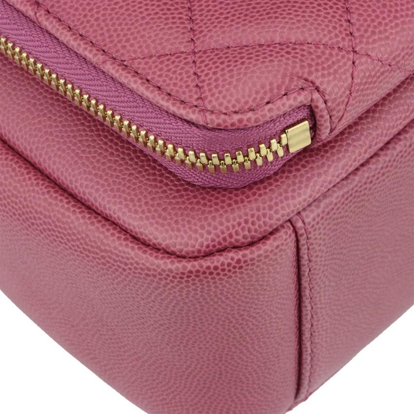 016c6875f124 CHANEL Pink Caviar Business Affinity Camera Bag. 22. 12345678910