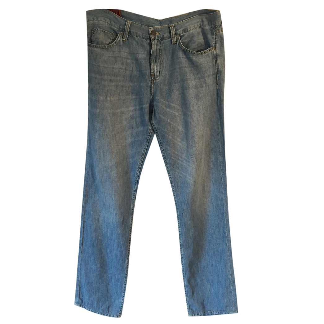 J. BRAND 'Kane Open Sky' cotton linen lightweight relaxed fit jeans
