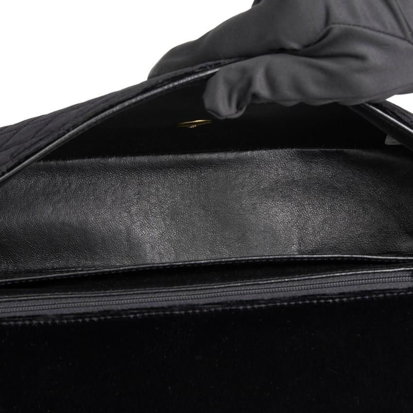 73fd3d5553dc Chanel Quilted Black Velvet Medium Kelly Flap Bag Mini Charm Set. 22.  12345678910