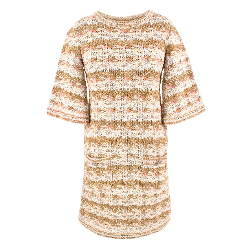 Chanel Woven Tweed Dress