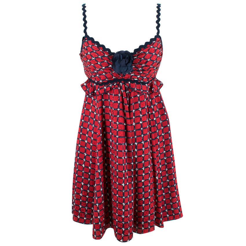 Andrew GN Silk Strap Dress
