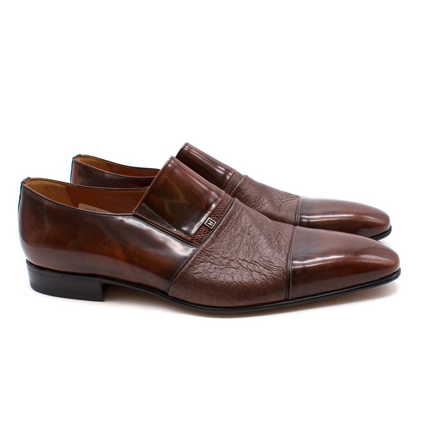 Leather Russellamp; Shoes Bromley For Lugano Moreschi CshQxtdr