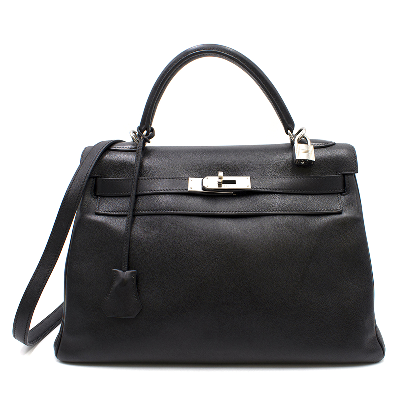 Hermes Swift Leather 32cm Kelly Bag