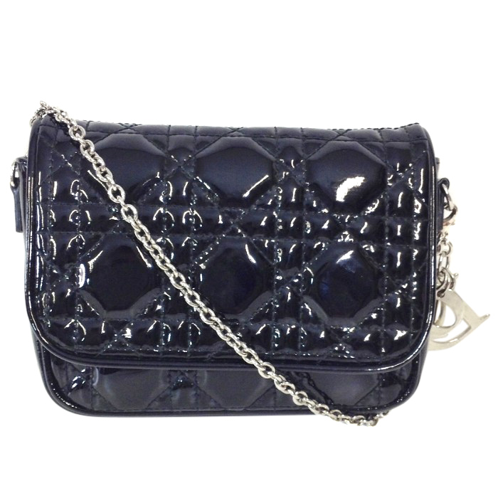 6a2736c20c Dior Black Cannage Quilted Lady Dior Mini Crossbody Bag | HEWI London