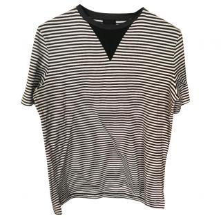 Lanvin striped round neck T-shirt