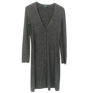 Ralph Lauren 100% Wool Longline Cardigan