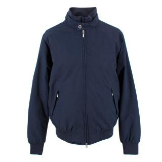 Boggi Men's Nylon Bomber Jacket
