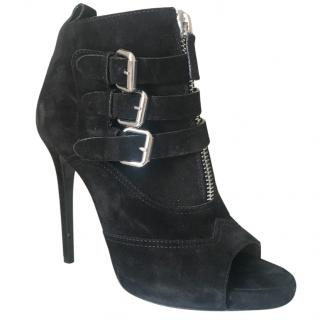 Tabitha Simmons suede buckle boots