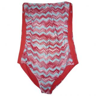 Missoni Strapless Swimming Costume