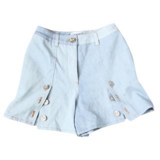 Chanel resort 2018 denim mini shorts
