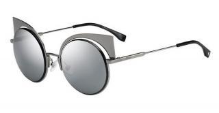 Fendi Grey Tone Eyeshine Sunglasses