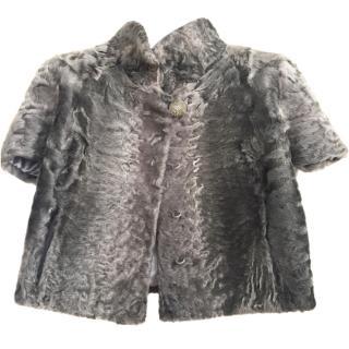 Pintadera Astrakhan Fur Jacket