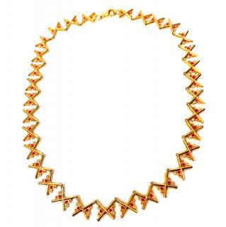 Charlotte Valkeniers silver star necklace 42cm